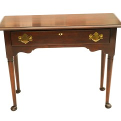 Solid Cherry Sofa Table Convertible Bed Toronto Statton Console