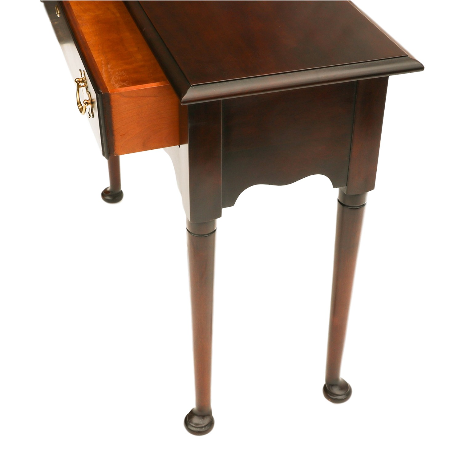 solid cherry sofa table harden quality statton console