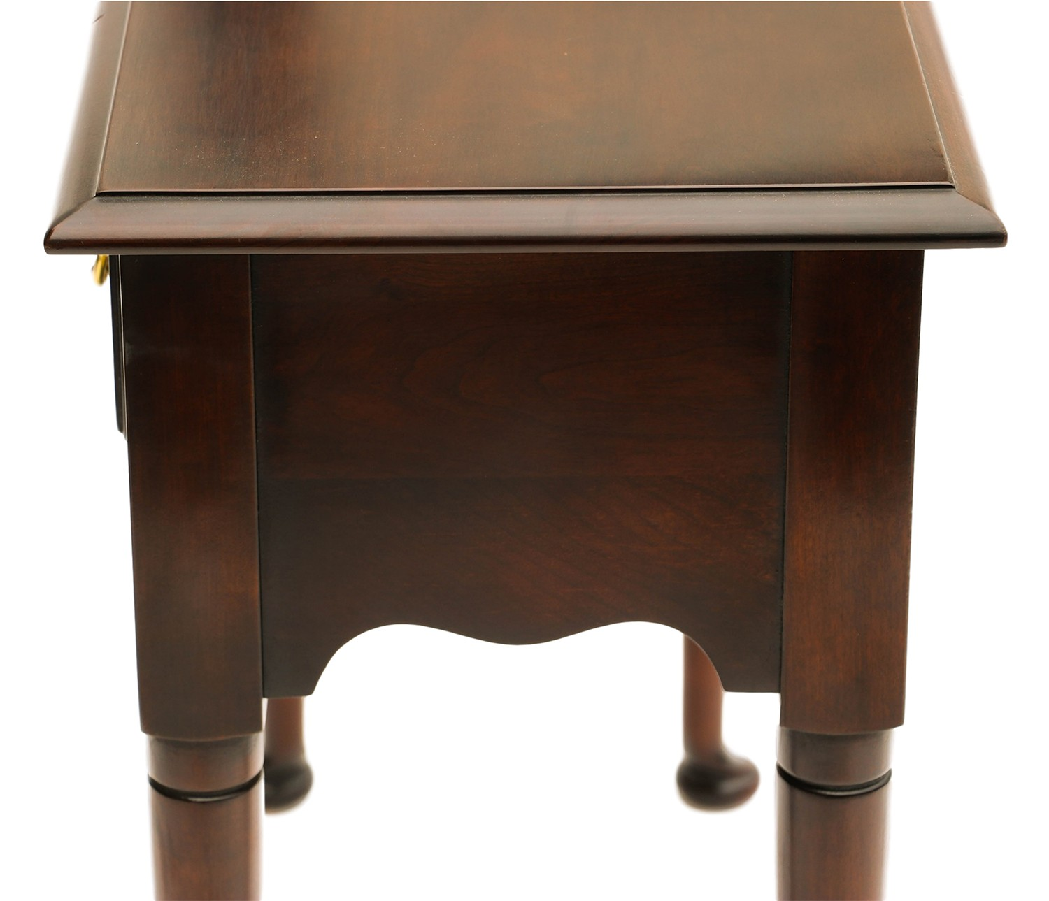 solid cherry sofa table plummers sectional sofas statton console