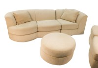 Weiman Mid Century Modern Sectional Sofa with Ottoman