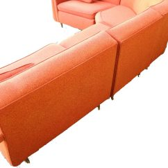 4 Piece Recliner Sectional Sofa Napa Lounger With Storage Mid Century Modern Four Upholstered