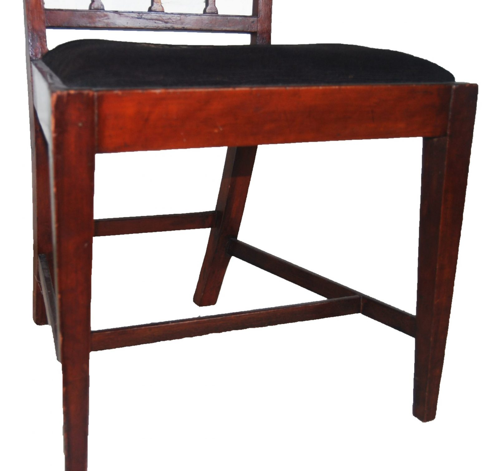 federal dining chairs rustic room table and a mahogany chair