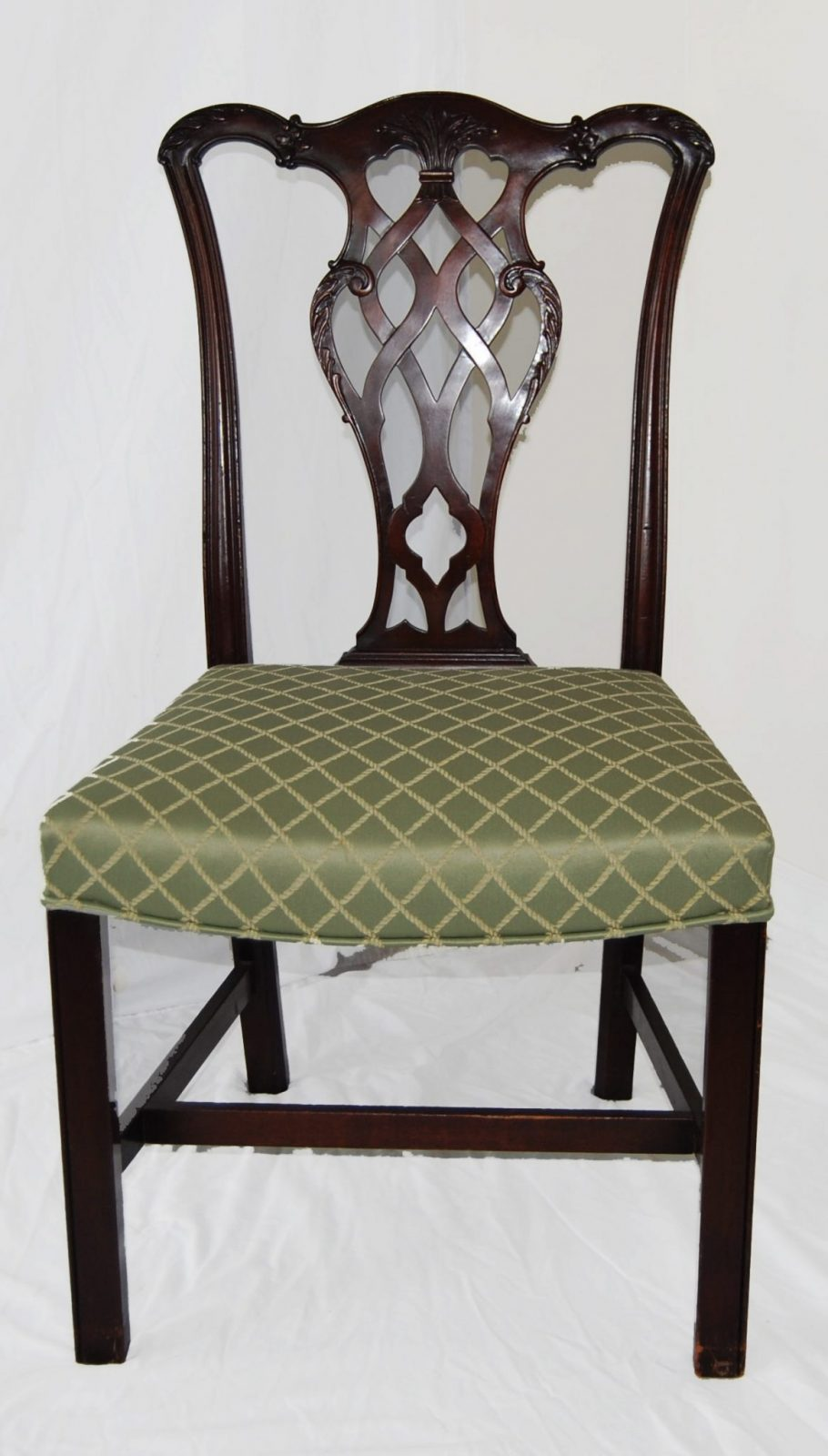dining chair styles antique sitting on exercises set of six english chippendale style mahogany