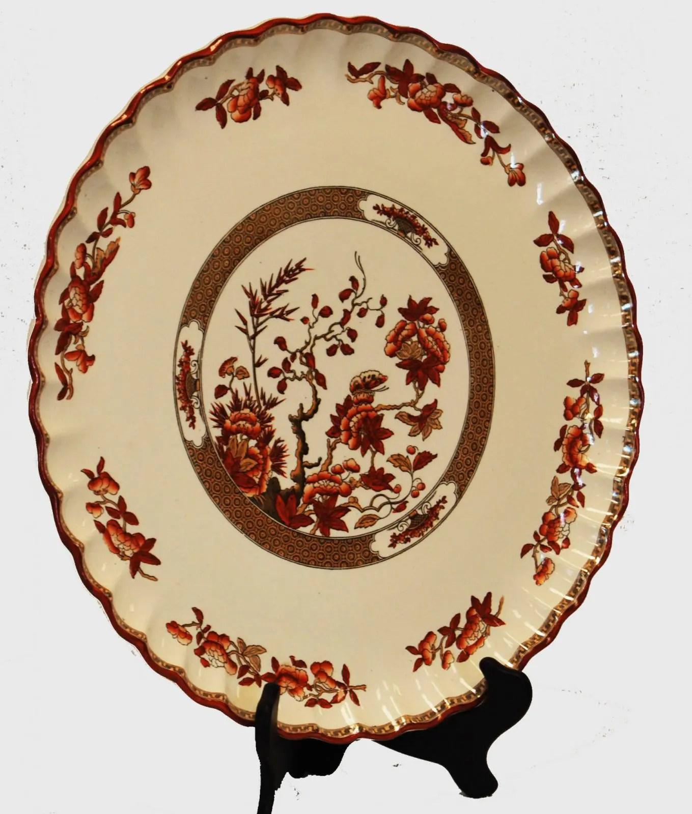 Round Torte Plate Spode China