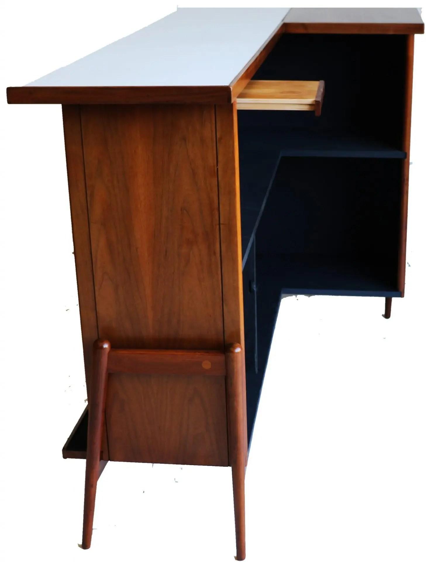 Mid Century Modern Walnut bar