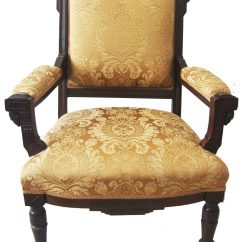 Eastlake Victorian Parlor Chairs Upholstered Chair Styles Names American Carved Wood And Armchair