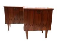 Pair Mid Century Nightstands side tables