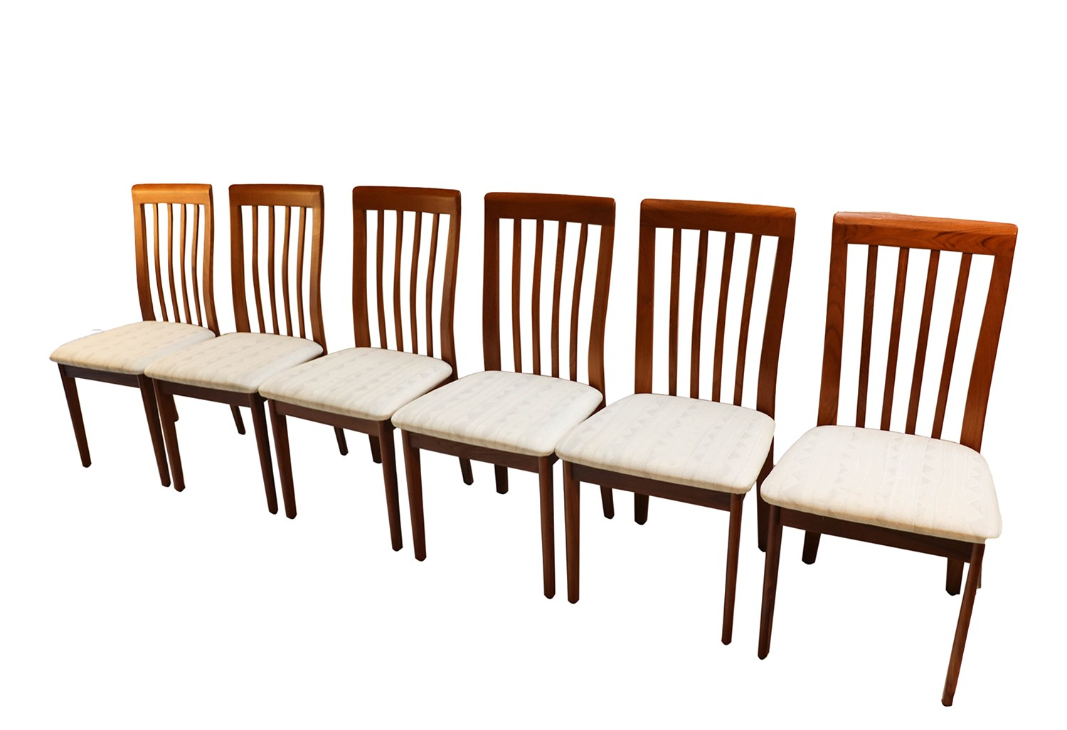 Dining Chairs Set Of 6 Danish Modern Teak Dining Chairs Set Of 6
