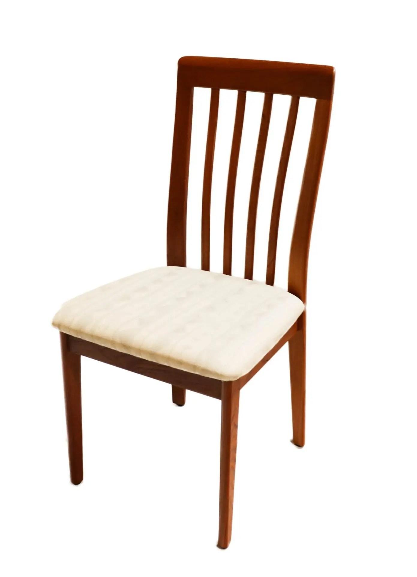 Danish Modern Teak dining chairs set of 6
