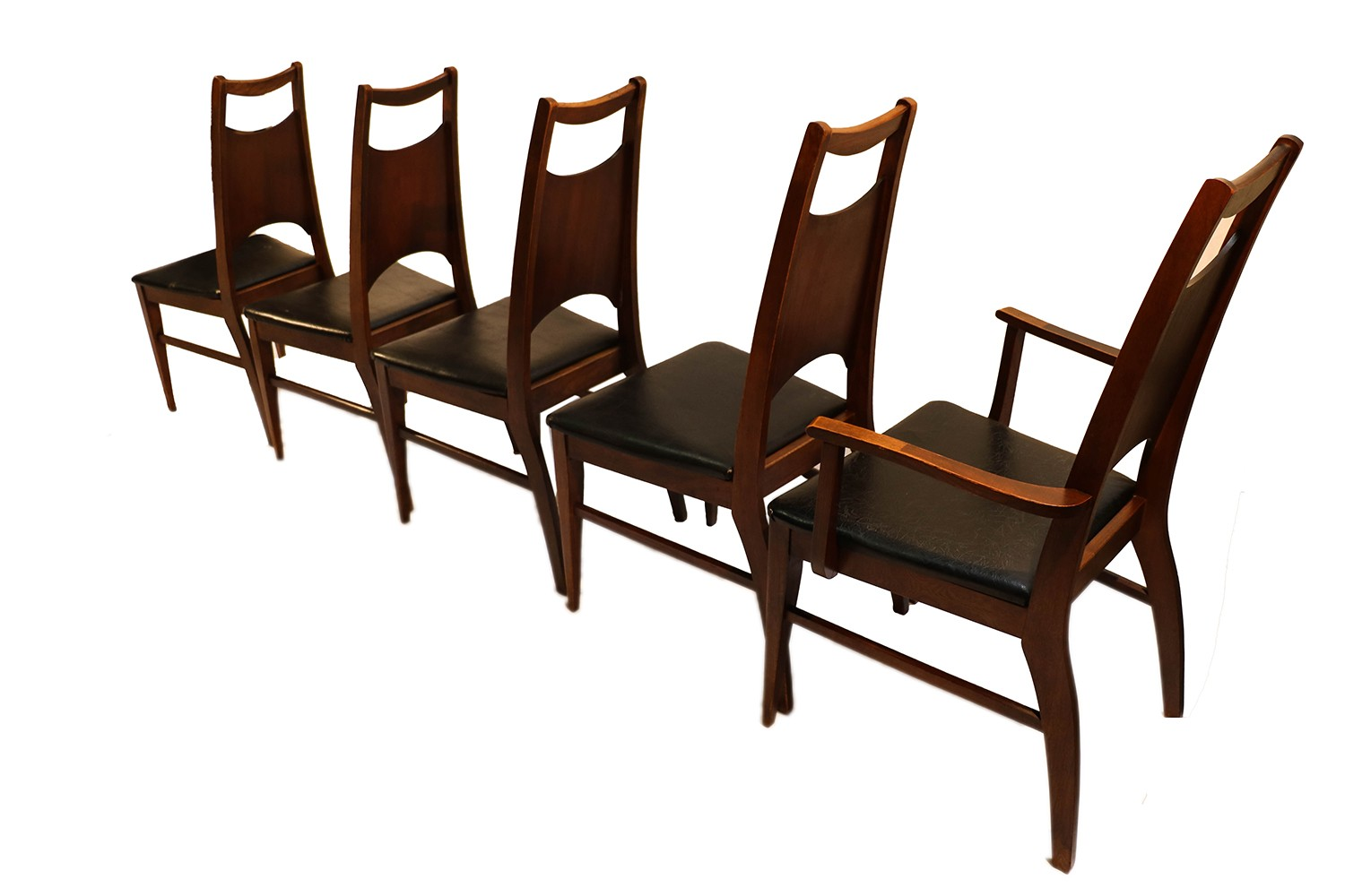 Mid Century Dining Chairs Mid Century Modern Bassett Dining Chairs