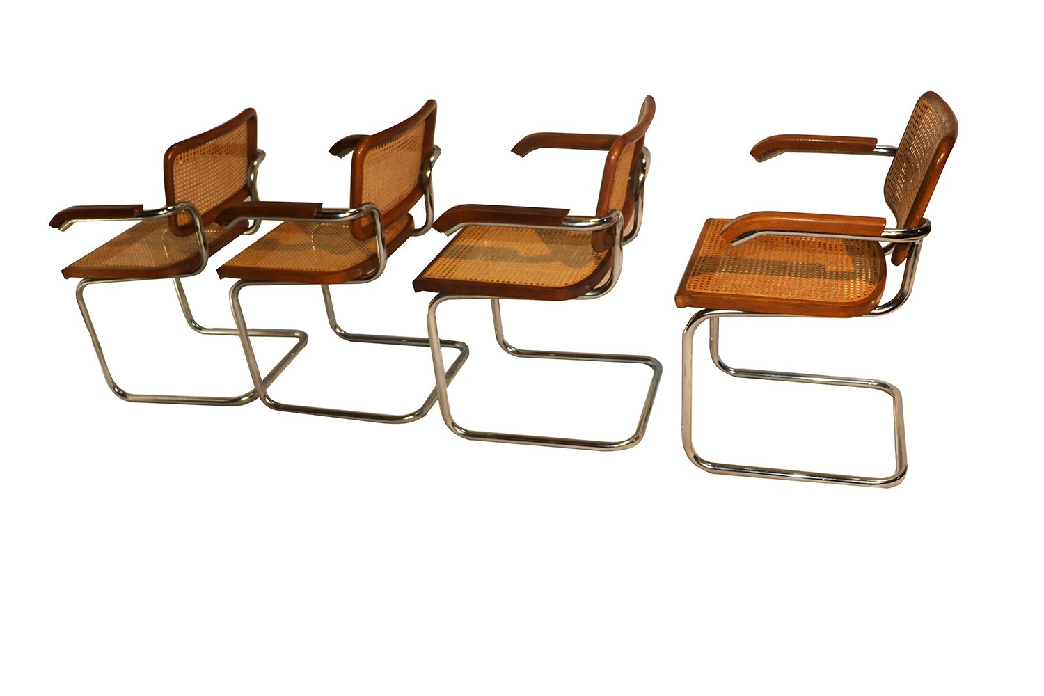 marcel breuer cesca chair with armrests green 2013 korean movie style cane arm chairs