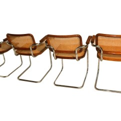 Marcel Breuer Cesca Chair With Armrests Child High Style Cane Arm Chairs