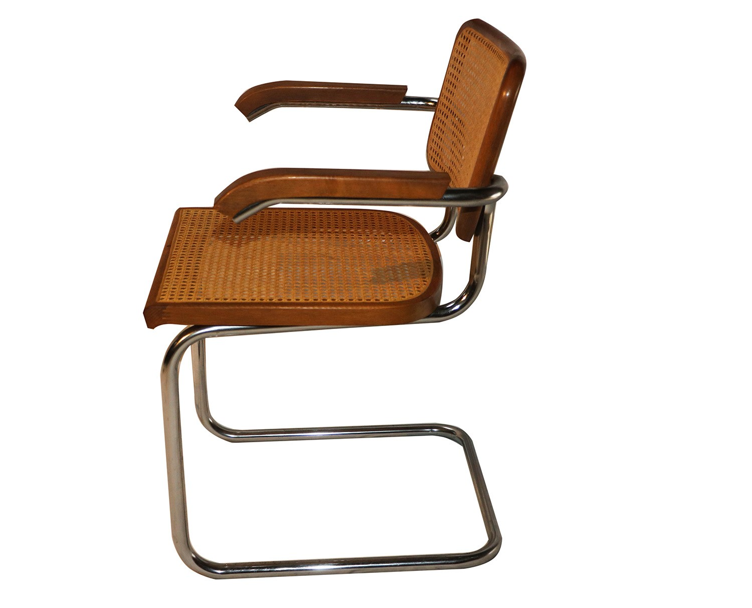marcel breuer cesca chair with armrests baseball desk style cane arm chairs