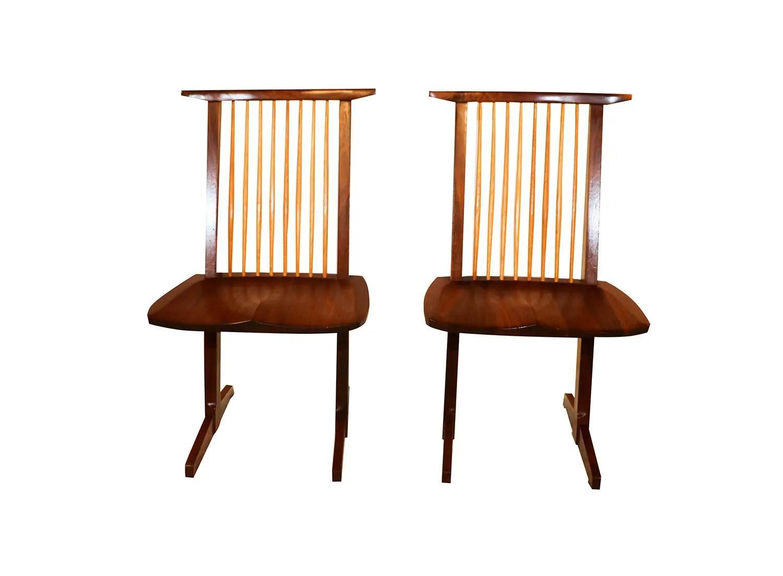 tall desk chairs with backs colorful adirondack george nakashima conoid