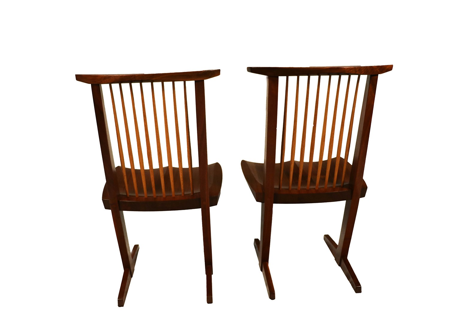 tall desk chairs with backs stool chair for vanity george nakashima conoid