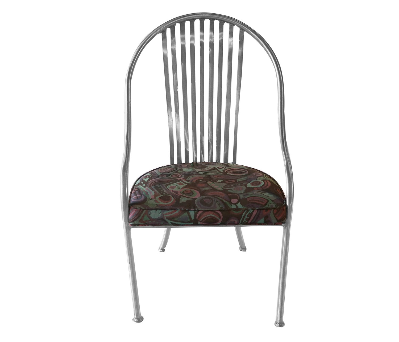 Mid Century Arthur Umanoff Steel Chairs For Shaver Howard