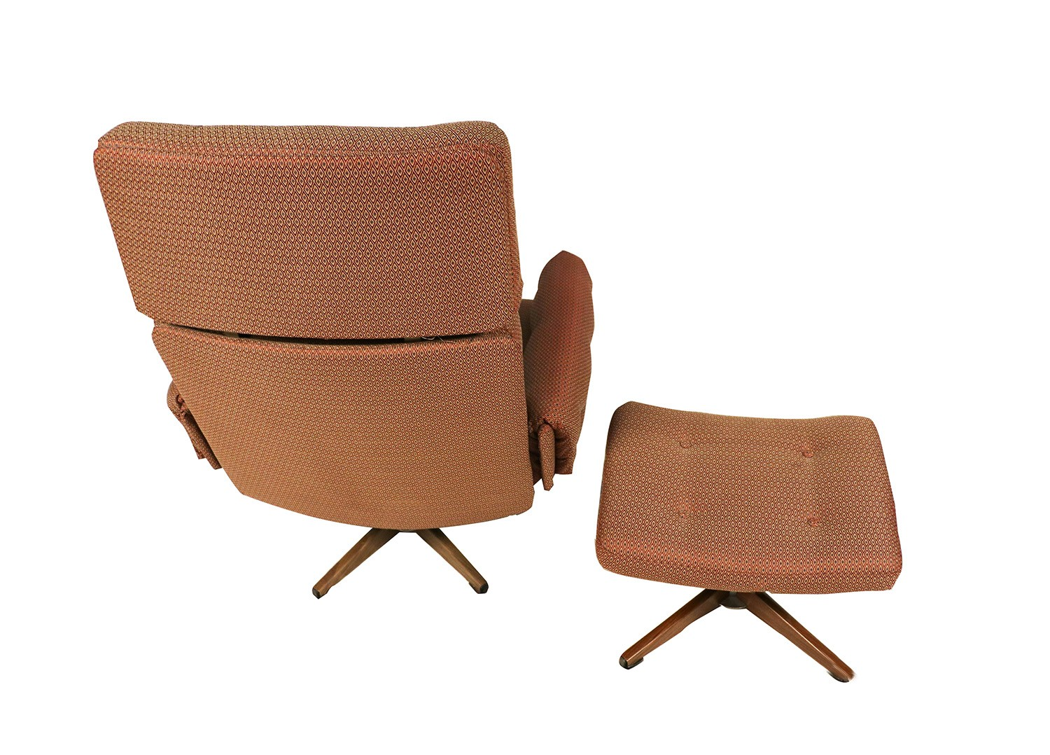 Mid Century Chair And Ottoman Mid Century Lounge Chair And Ottoman
