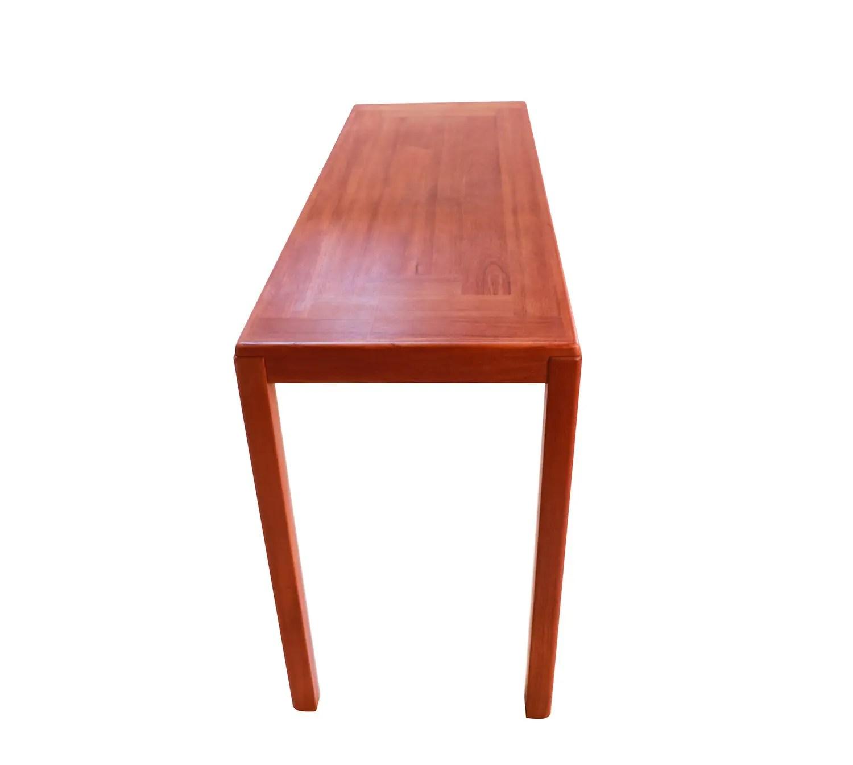 teak sofa table modern wood set vejle stole møbelfabrik danish console