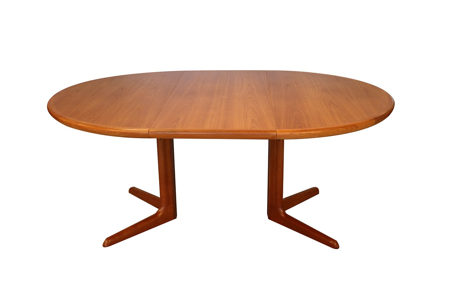 Mid Century Danish Teak Skovby Extendable Dining Table