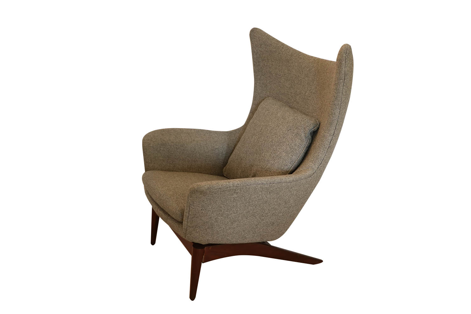 Danish Modern Lounge Chair Danish Mid Century Modern Hw Klein For Bramin Wing Lounge Chair