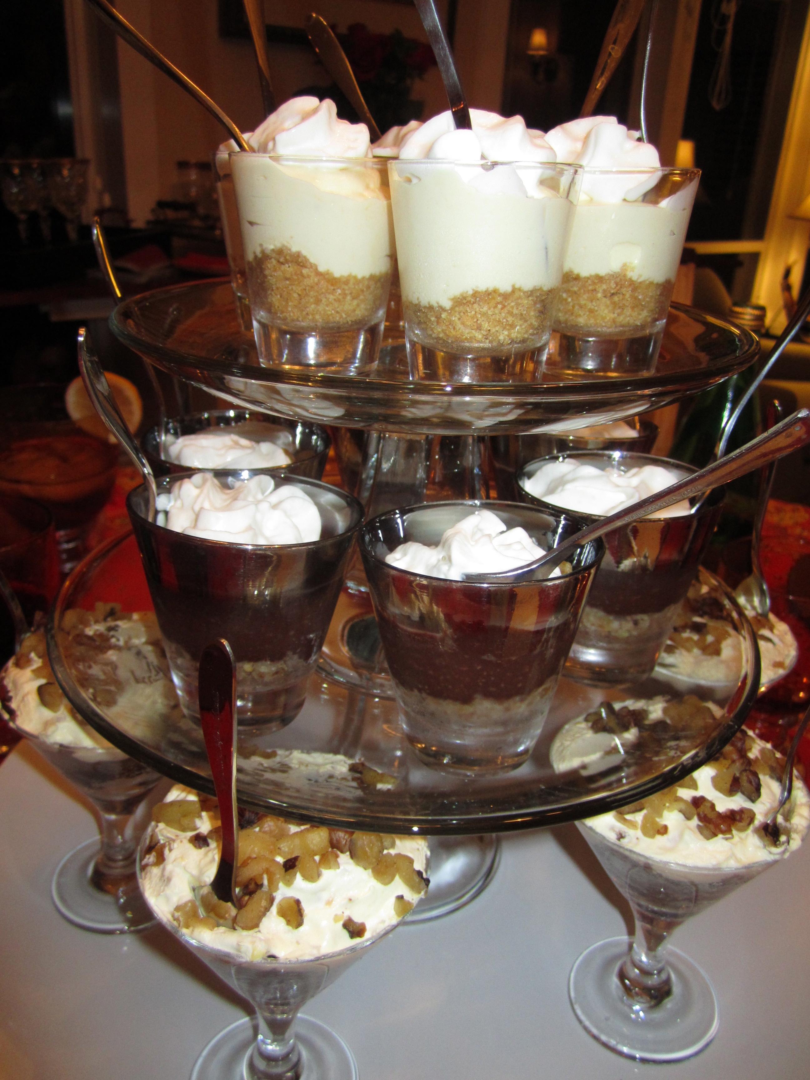 mini desserts in shot glasses recipes i picked up six shot glasses