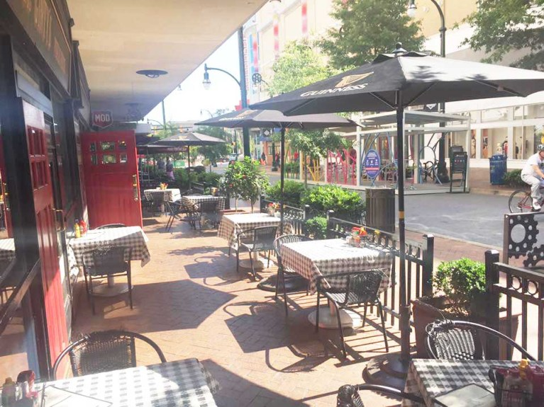 Image of Outside Seating at McGinty's Public House.