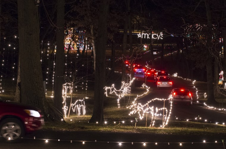 Howard countys dazzling symphony of lights display lights aloadofball Gallery