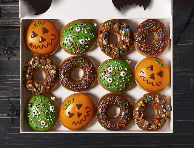 New Krispy Kreme Trick-or-Treat Donut Is a Monster Mash of All Things Awesome.