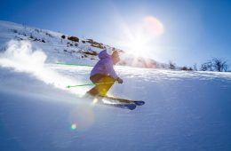 Skiing is a great way to cross-train in the winter.