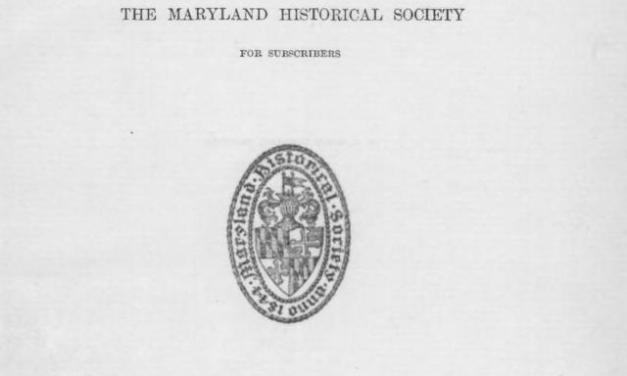 Maryland Historical Magazine 1906 – 2010