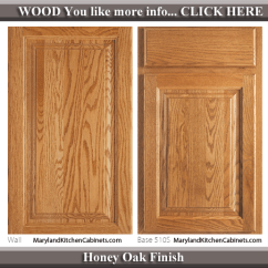 Blonde Kitchen Cabinets Bar Height Benches 510 – Oak Cabinet Door Styles And Finishes | Maryland ...
