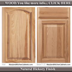 Blonde Kitchen Cabinets Furniture Pantry 513 – Hickory Cabinet Door Styles And Finishes ...