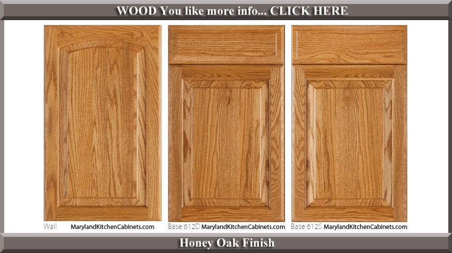 kitchen cabinets com rugs under table 613 oak cabinet door styles and finishes maryland honey finish style
