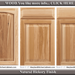 Kitchen Cabinets.com Design Your Own 613 Hickory Cabinet Door Styles And Finishes Maryland Natural Finish Style