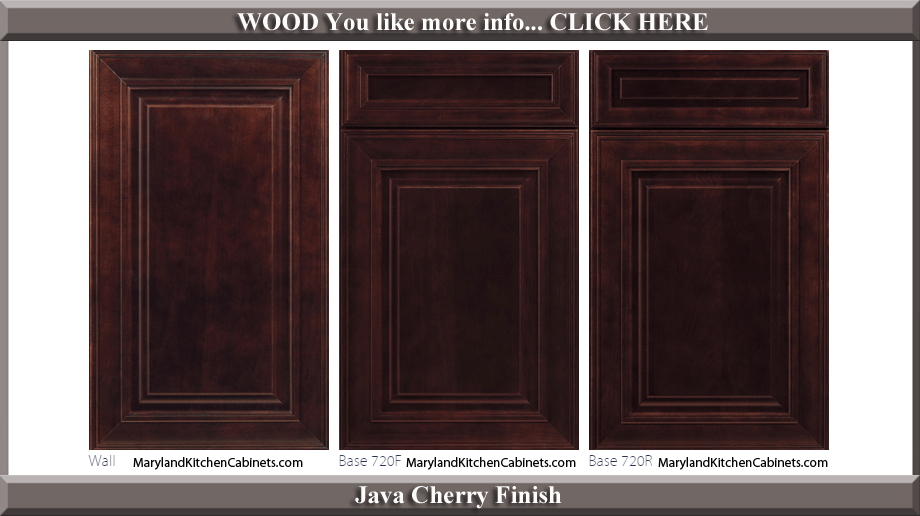 720  Cherry  Cabinet Door Styles and Finishes  Maryland