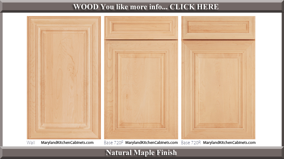 720 – Maple – Cabinet Door Styles And Finishes Maryland Kitchen
