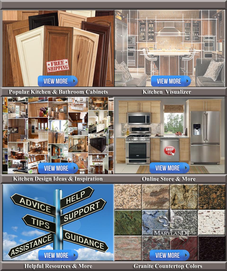 Maryland Kitchen Cabinets Discount Kitchen & Bathroom Cabinets