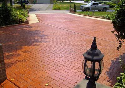 Decorative Concrete Applications  MD DE PA