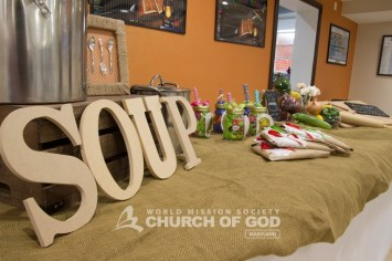 World Mission Society Church of God, wmscog, Baltimore, md, Maryland, soup, social, Bible seminar, food, Glen Burnie