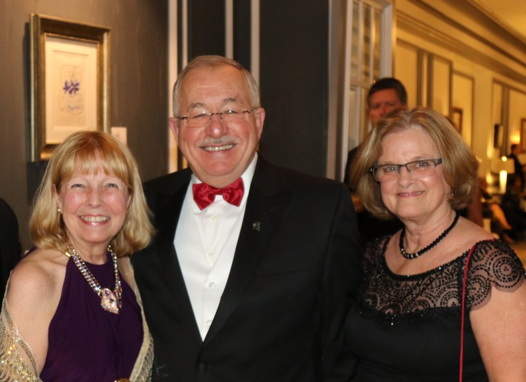 MSU College of  Osteopathic Medicine Dean William Strampel, D.O. and his wife, Lee at the MSU COM annual Gala