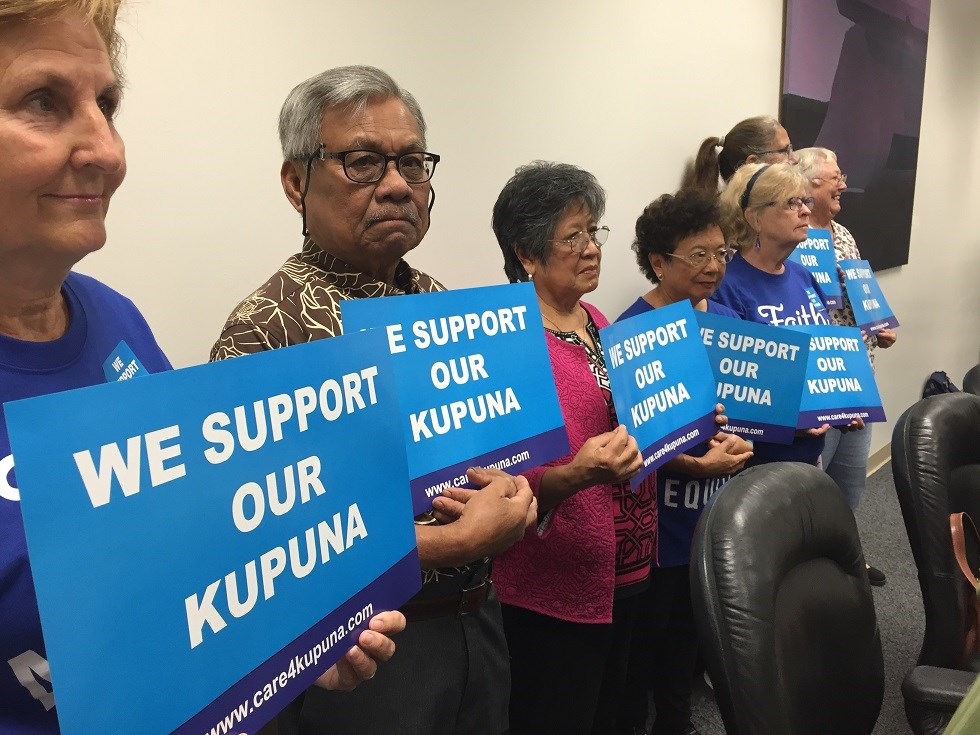Kapuna caregivers