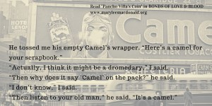 Camel's wrapper