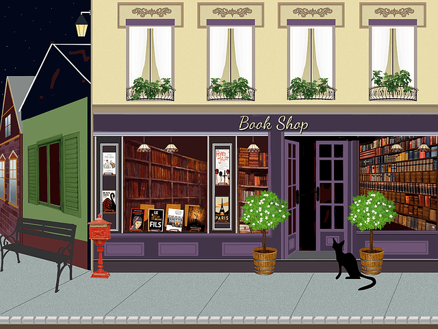 book reviews and bookstores