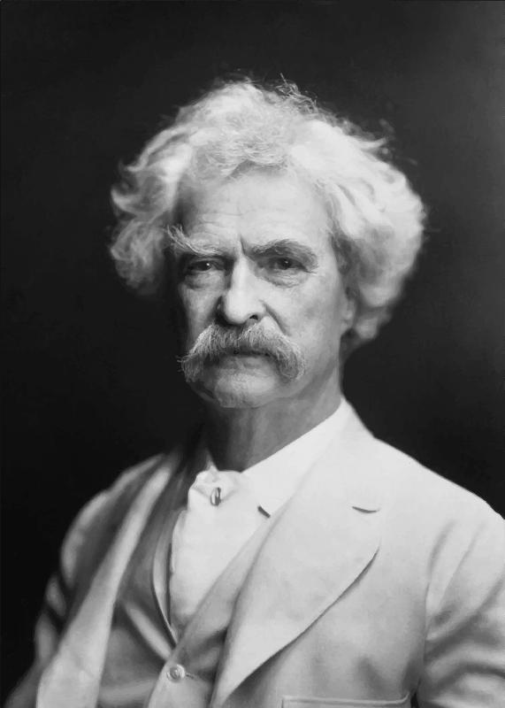 Mark Twain by AF Bradley 1907
