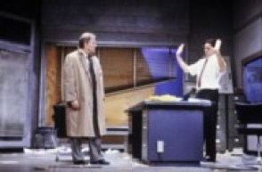 Writing dialogue [Glengarry Glen Ross, texte de David Mamet : photographies / Daniel Cande]