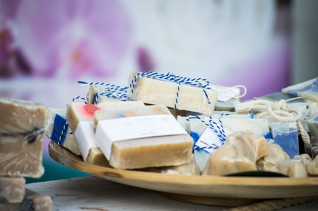 soap, handmade, bar