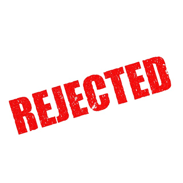 stamp, rejection, document