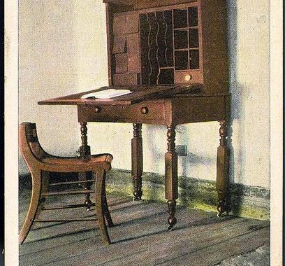 Poe's Desk--Edgar Allan Poe Shrine