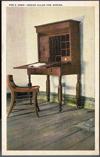 Poe's Desk--Edgar Allan Poe Shrine