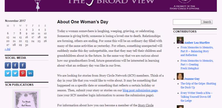 women writers on SCN